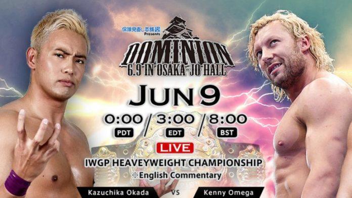 Risultati immagini per NJPW Dominion 6.9