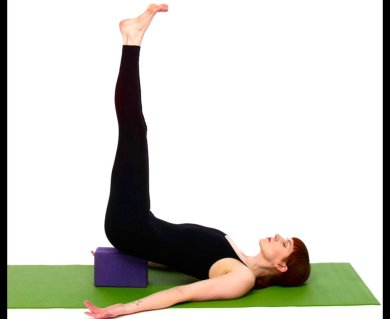 find calm with legs up the wall