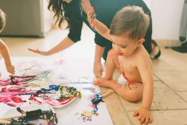 In the mind of a toddler, mistakes equal learning