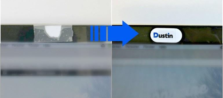 Dustin Webcam cover Header