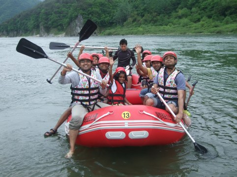 Yongweol Rafting