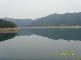 View from Daecheong Dam