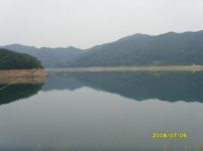 View from Daecheong Dam