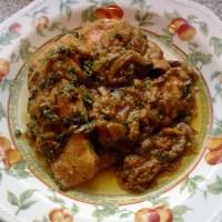 Honey-Masala Salmon bhuna