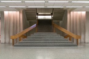 The Regenstein Library - stairs to the second floor