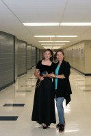 Petya & Petya Petya Haralanova Jr. with Petya Haralanova after Fall Band Concert