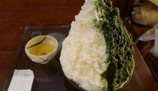 八雲餅で有名な「ちもと」のおまかせかき氷は絶対おすすめ!他にはない味!