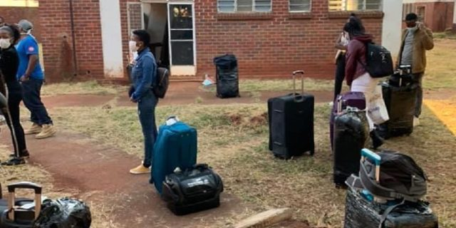 Zimbabwe returnees from UK