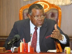 Namibia president fined for violating lockdown rules