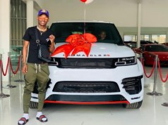 inside khama billiat's rare car