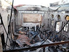 Plumtree high was burnt by fire