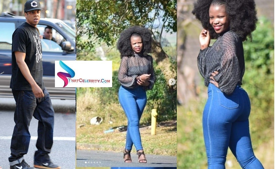 Pictures: Meet South African Thule Mgaga the only person Jay Z followed on Twitter