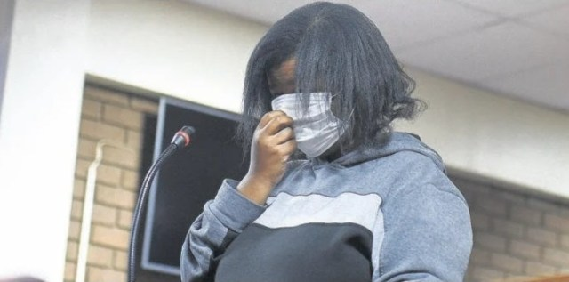 Pontsho Mohlanka appeared in the Vereeniging Magistrates Court yesterday. Photo by Christopher Moagi.