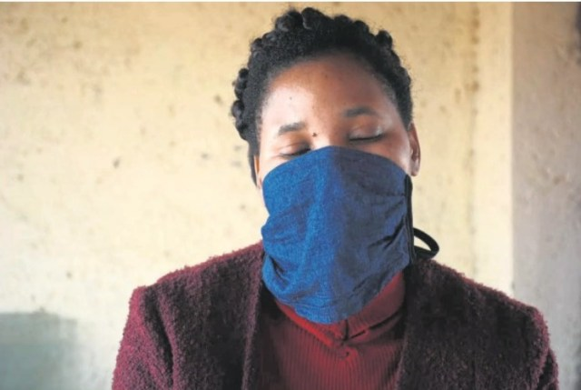 Valery Mabuela (37) of Kanana in Hammanskraal says she is tormented by a tokoloshe that monitors her every move. Photo by Raymond Morare.