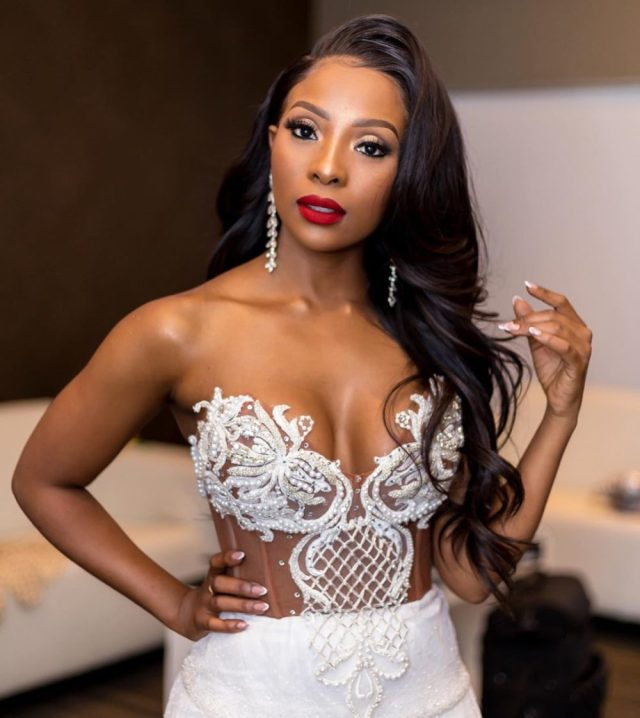 Pearl Modiadie kept a very low profile during her pregnancy. The Lunch With Thomas and Pearl co-host refused to comment, post pictures and dished out the most hilarious clappacks to Twitter trolls who tried to invade her privacy with spicy comments.
