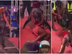 Watch: Man dies while dancing with heavily endowed woman