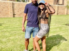 Itumeleng Khune and his sister Mapula Khune who was burnt beyond recognition. Credit: Instagram