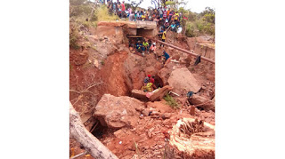 Disaster: Three Illegal Miners Trapped In Abandoned Mine