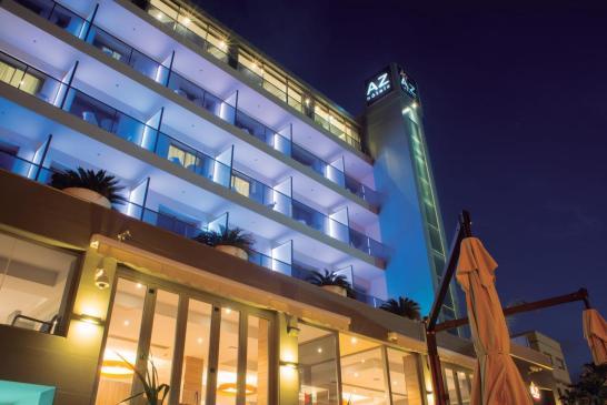 AZ Hotel Palm Beach - Nuit