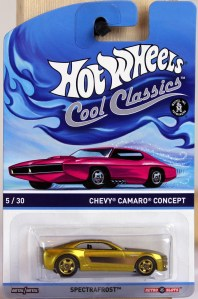 2014 Hot Wheels Cool Classics Chevy Camaro Concept