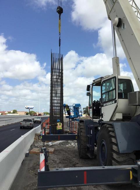 Stillman Bridge Rebuild Columns Bent