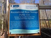 ReservoirLAB, a HarborLAB program based at the Neversink Reservoir, provides educational paddling programs to teach NYC youth about our drinking water.