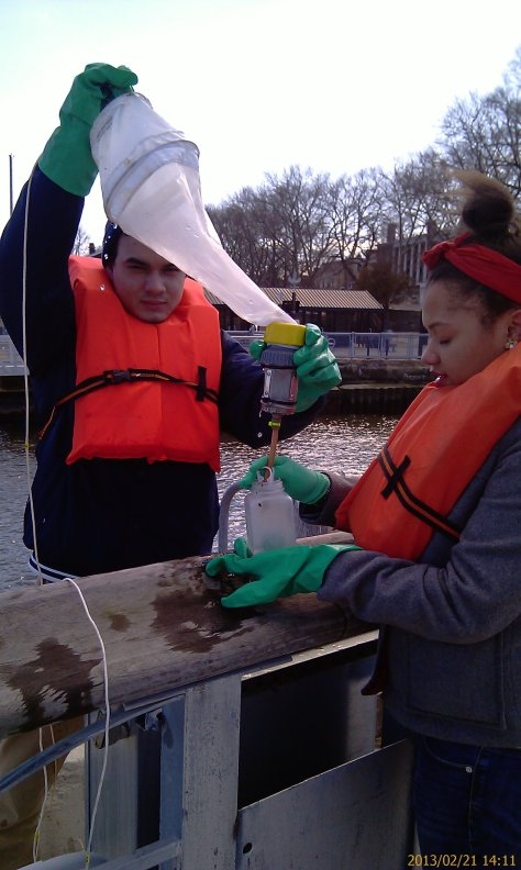Marine Research students monitor water quality indicators in the HRE weekly