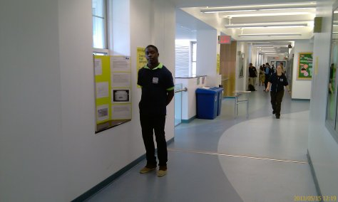 Shawn and his project on water-air interaction