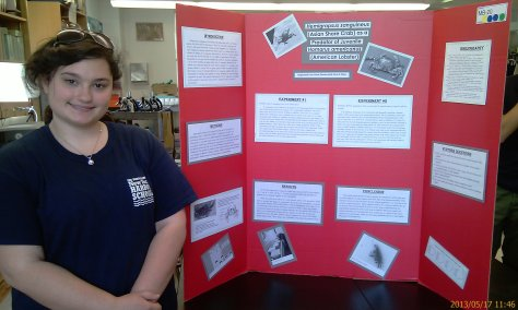 Rachel ready to answer the Hemigrapsus mystery