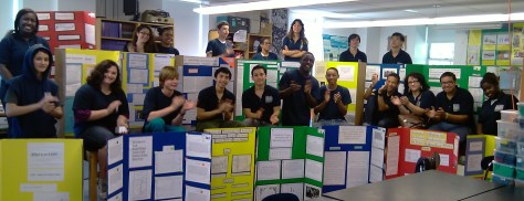 11th Grade Marine Biology Researchers