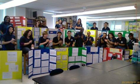 11th Grade Marine Biology Researchers