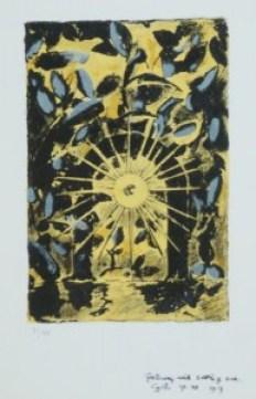 'Gateway with setting sun' Graham Sutherland