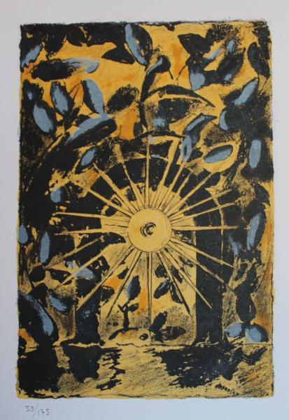 Graham Sutherland 'Gateway with Setting Sun'