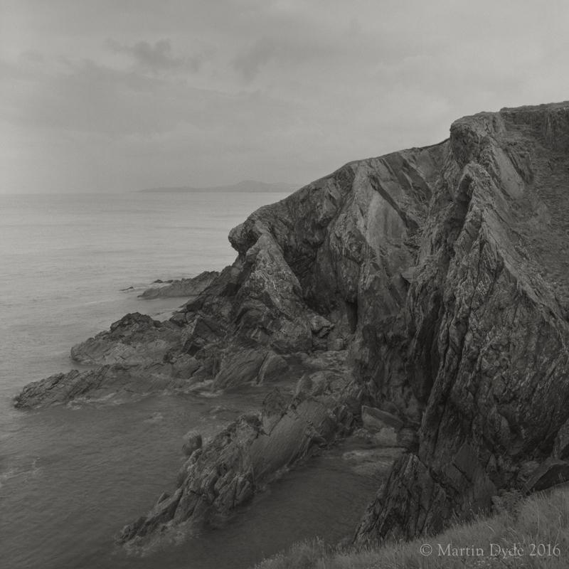 Cliff study 11, Porthgain, St. Davids Peninsula,