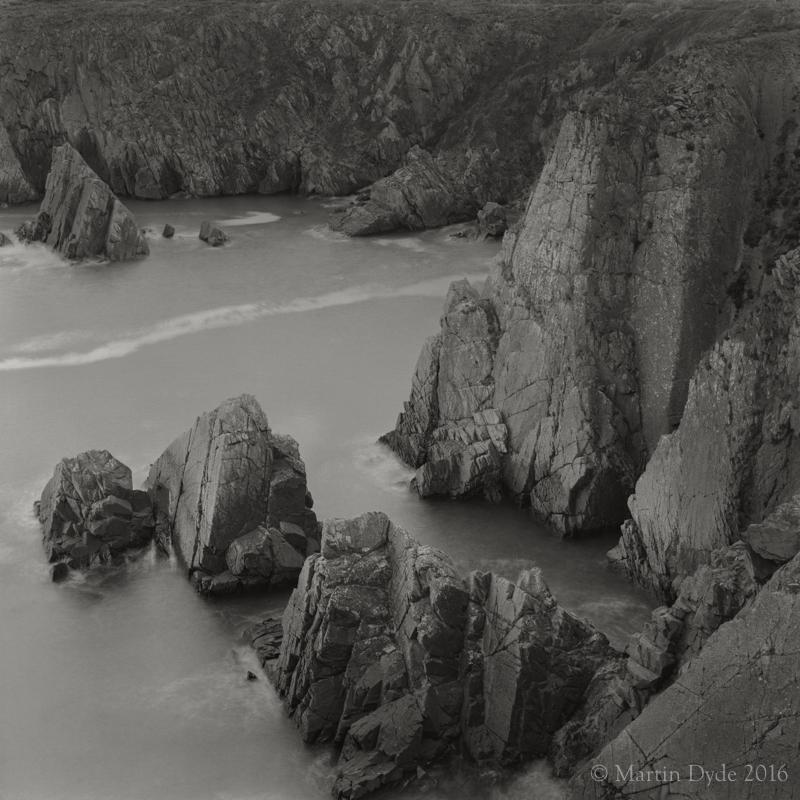 Cliff study 2, Porthclais, St. Davids Peninsula