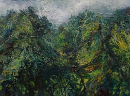 Nicholas Ward 'Heavy Rain, Snowdon'