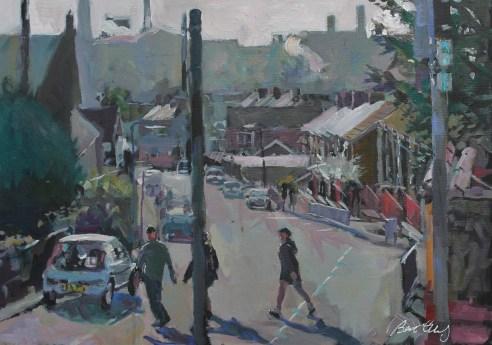 Bert Evans - Incline Row, Taibach