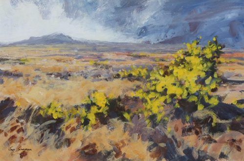 Jan Gregson - Burst of Light, Dowrog common