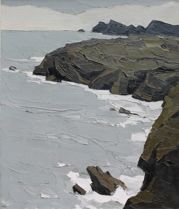 Sir Kyffin Williams 'Coast at S.t.Davids'