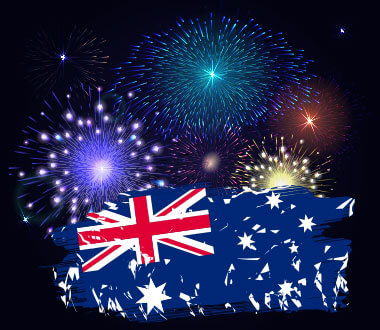 Australia Day Fireworks Syndey Buffet Dinner Cruise