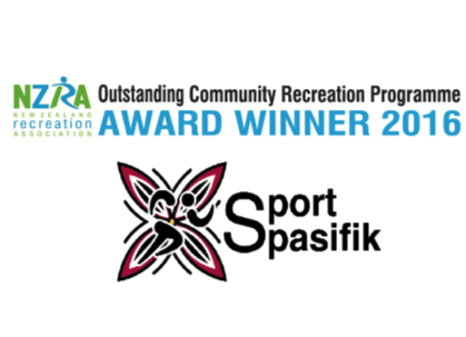 Winners 2016 NZRA Outstanding Community Recreation Programme Award