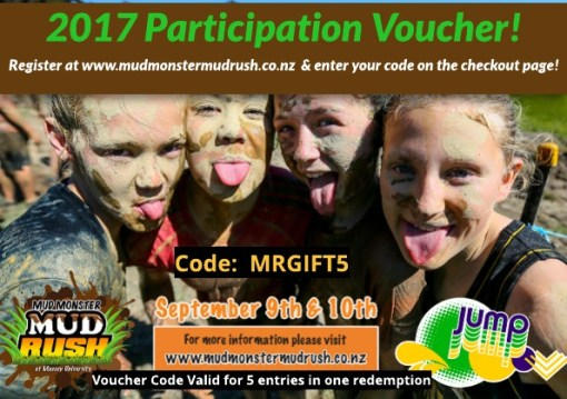 Mud Rush Gift Voucher