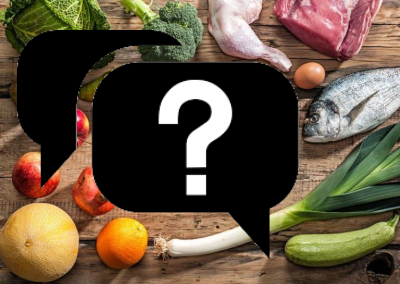 FAQ's About Healthy Eating