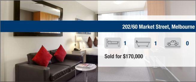 Sold 202/60 Market Street, Melbourne