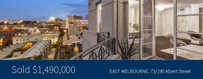 73/190 Albert Street, East Melbourne - Victoria Alberts - Harcourts Melbourne City