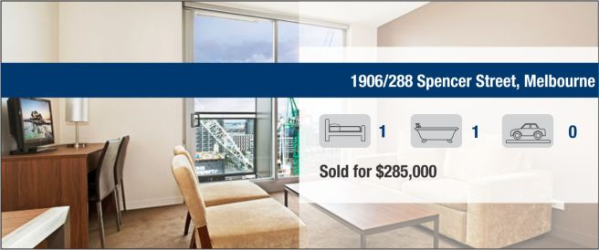 1906/288 Spencer Street, Melbourne - SOLD