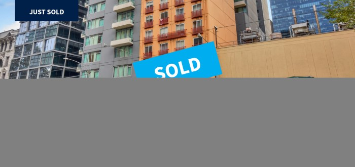 11/546 Flinders Street, Melbourne - Sold for $143,000 - Harcourts Melbourne City 03 9664 8100