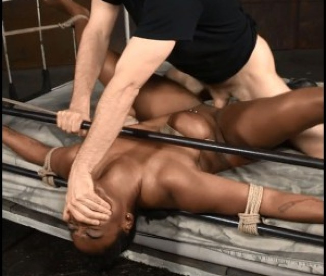 Release  Curvy Lisa Tiffian Bound Down In Rope Onto Bed And Roughly