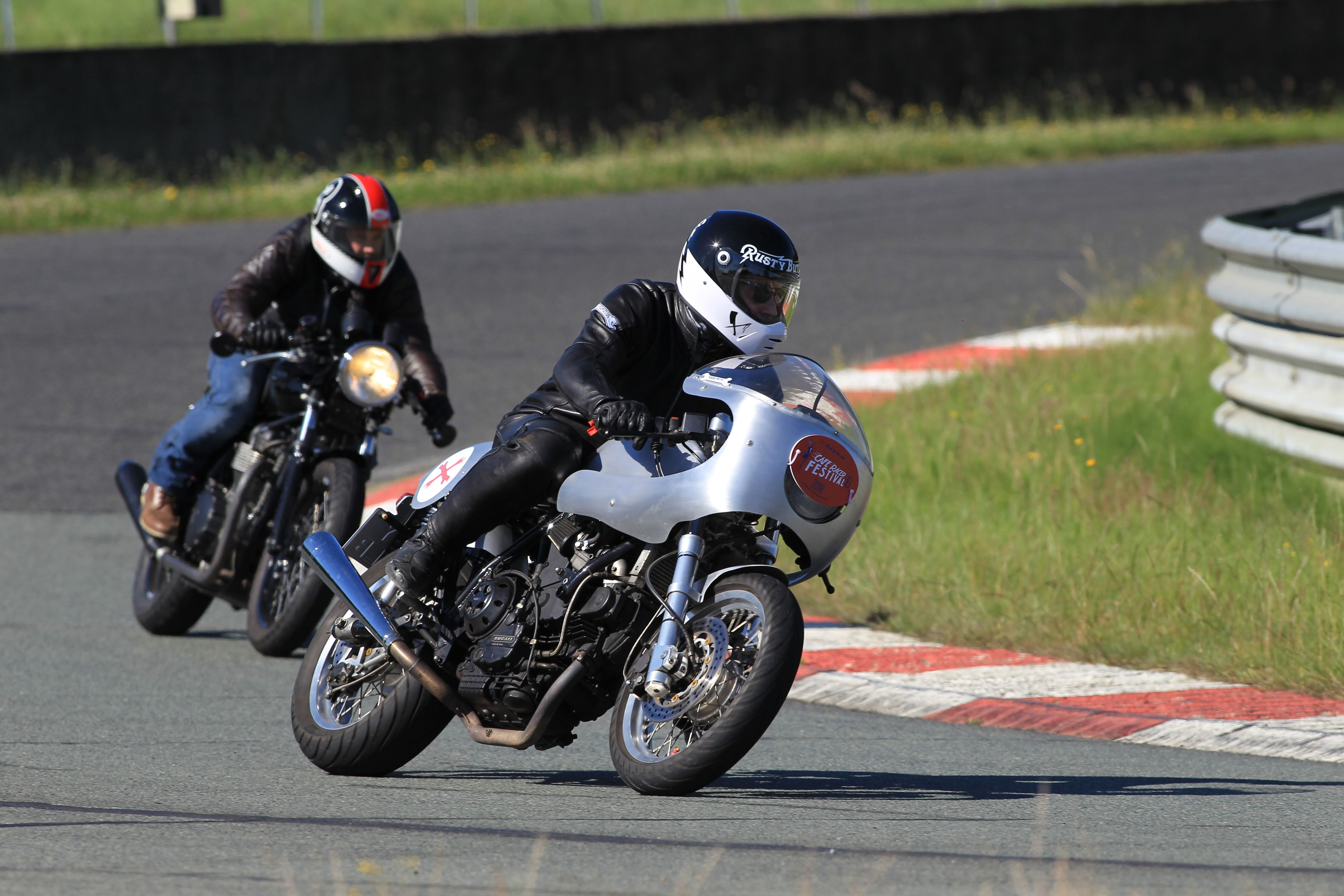 Cafe Racer Festival 2016 – 2019 on the Ducati Imola caferacer
