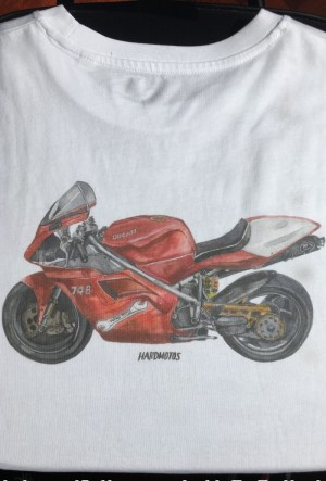 Ducati 748 –  90s superbike? We like!